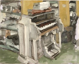 Dominion Organ oil on panel 20 x 25cm 2005