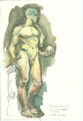 greek nude