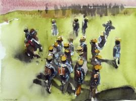 1812 watercolour 20 x 25 cm 2008