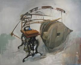 Construction #5 oil, canvas 122 x 153 cm 2006