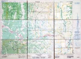 Blairmore, Alberta oil on 9 wood panels 70 x 92 cm (total) 2009