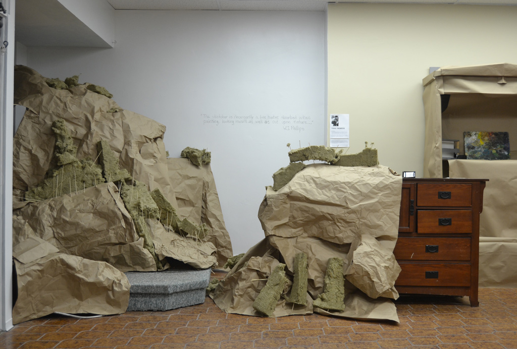 Installation View of landscape for