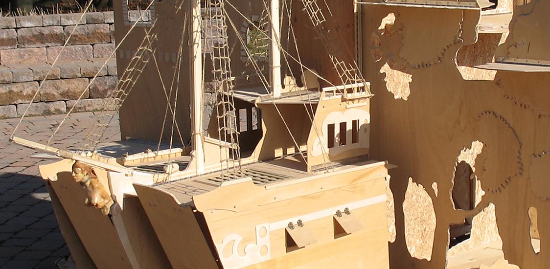 Plywood Ship