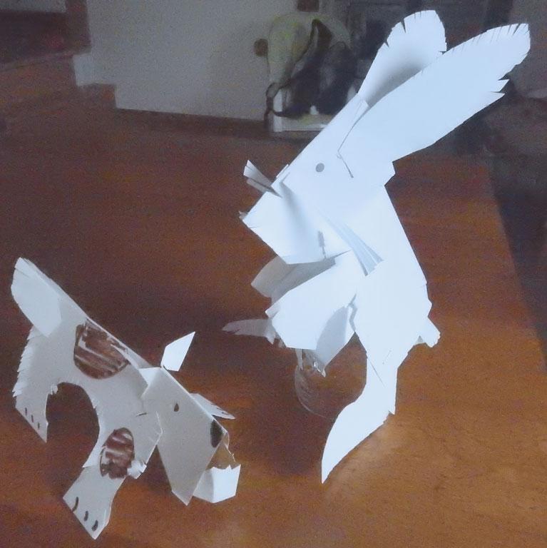 paper fold animals